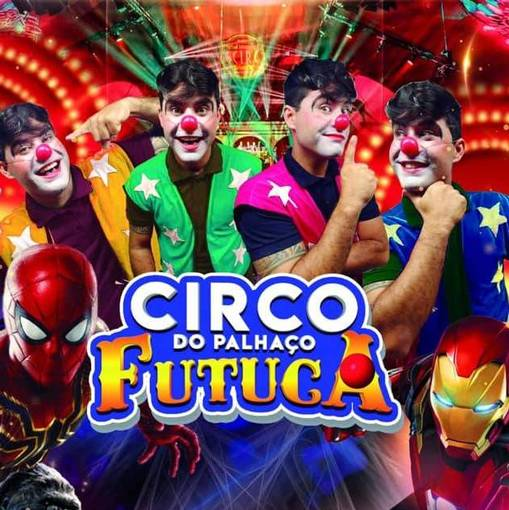 Circo do palhaço Futucasur Fotop