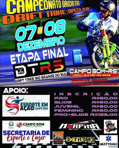 Final campeonato Gaúcho de Drift Trike 2019 on Fotop