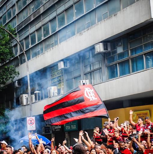 Flamengo Campeão da libertadores - Chegada dos jogadores on Fotop