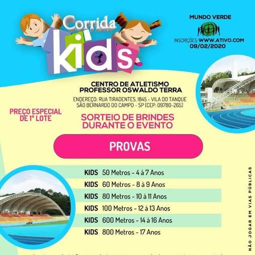 CORRIDA KIDS MUNDO VERDE no Fotop