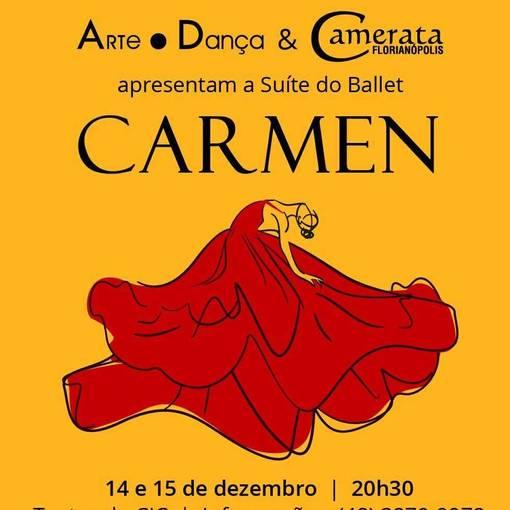 Carmen - Arte.Dança - 14 e 15 de Dezembro de 2019 no Fotop
