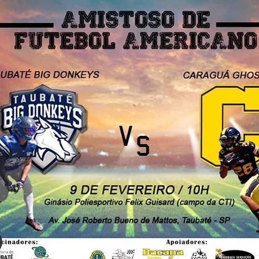 Amistoso de Futebol Americano: Taubaté x Caraguatatuba on Fotop