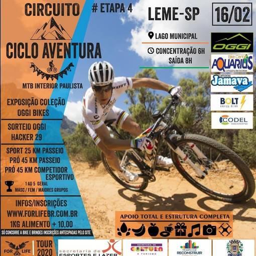 Circuito  Ciclo Aventura  Interior Paulista#ETAPA LEME SP on Fotop