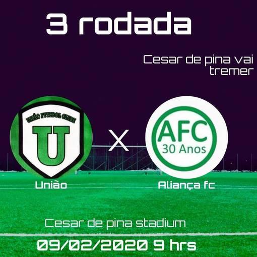 UNIÃO FC  x  ALIANÇA FC -  Terceira rodada  -  3º Campeonato Varzeano de São João del Rei -MG   on Fotop