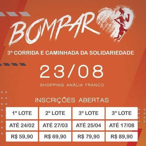 3° corrida Bompar -  corrida e caminhada  on Fotop