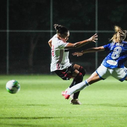 Campeonato Brasileiro Feminino 2020 - Cruzeiro x São Paulosur Fotop