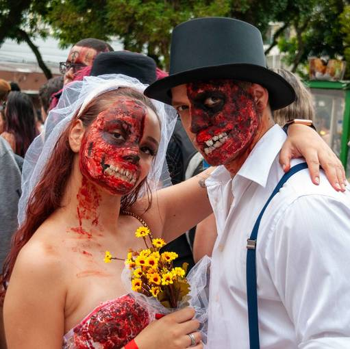 Zombie Walk - Carnaval Curitiba 2020 no Fotop
