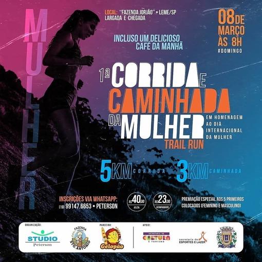 1°CORRIDA E CAMINHADA DA MULHER on Fotop