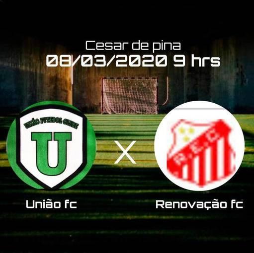 UNIÃO FC  x  RENOVAÇÃO  -  Sexta rodada  -  3º Campeonato Varzeano de São João del Rei -MG   on Fotop