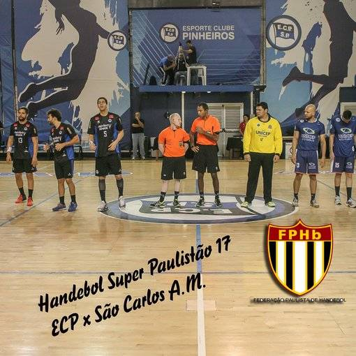Super Paulistão17= Handebol A.M.- ECPinheiros x São Carlos on Fotop