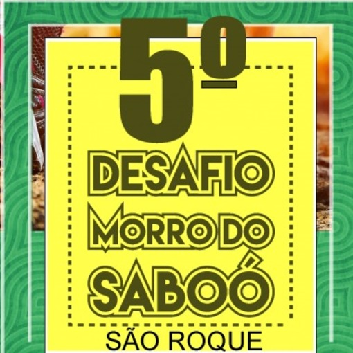 Desafio Morro do Saboó 2021 on Fotop