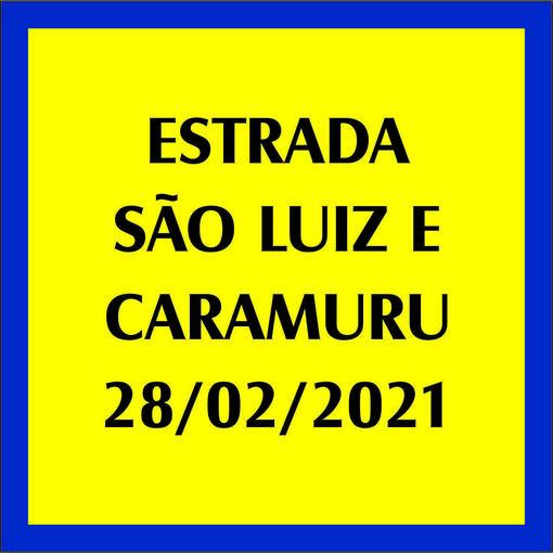 ESTRADA SÃO LUIZ E CARAMURU - 28/02/2021En Fotop