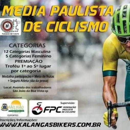 1ª Etapa Media Paulista de Ciclismo - Kalangas Bikers no Fotop