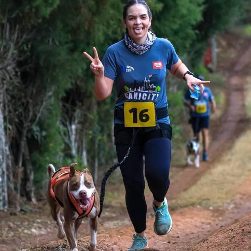 1° Desafio Canicross Cães Assistentes no Fotop