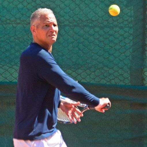 Partida de Tenis Hebraica no Fotop