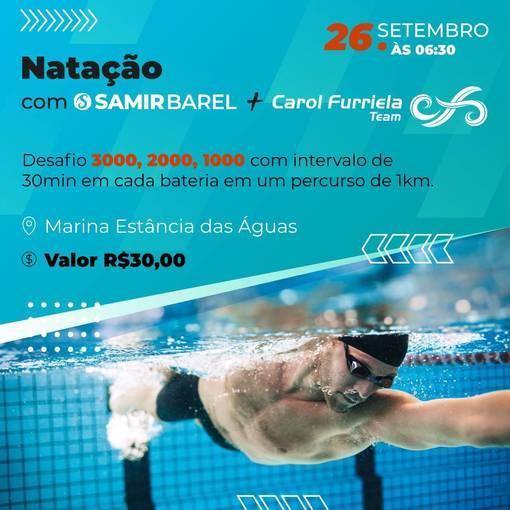 Natação Samir Barel + CF team on Fotop