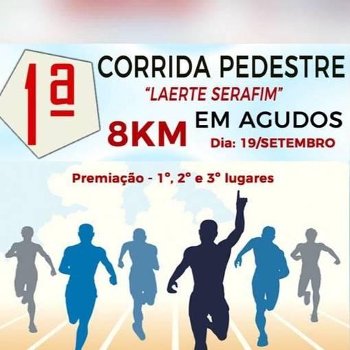 1° Corrida Pedestre Laerte Serafim - Agudos on Fotop