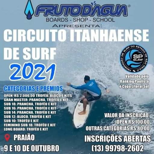 Circuito Itanhaense de Surf 2021 on Fotop