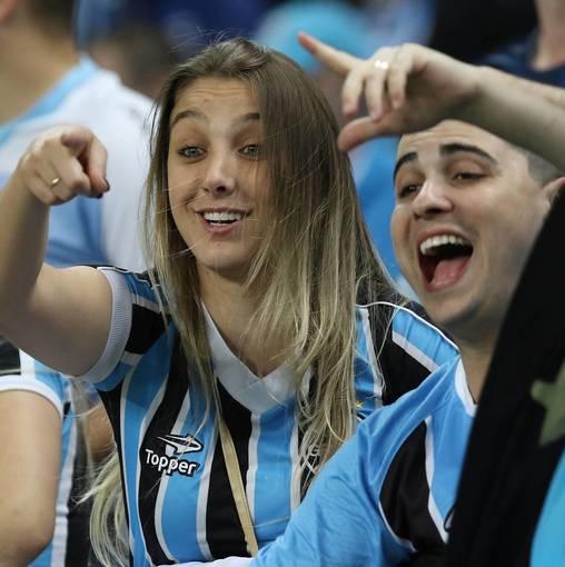 Grêmio x Barcelona (EQU) Libertadores 2017 no Fotop