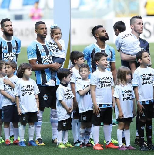 Grêmio x Flamengo - Brasileirão 2017 no Fotop