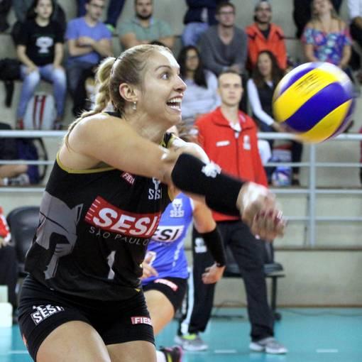 Superliga Feminina de Vôlei - SESI-SP vs RENATA-VALINHOS on Fotop