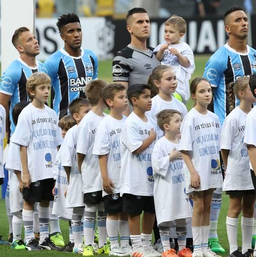 Grêmio x São Paulo - Brasileirão 2017 no Fotop