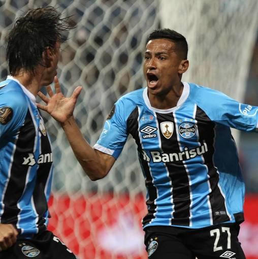 Grêmio x Lanús - Libertadores 2017 no Fotop