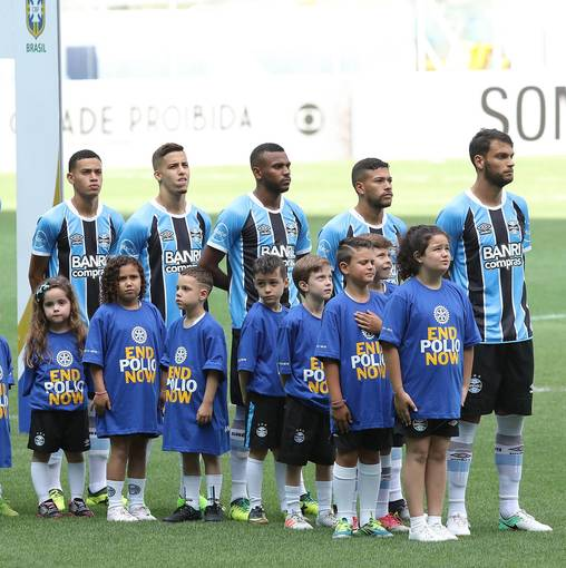 Grêmio x Atlético-GO - Brasileirão 2017 no Fotop
