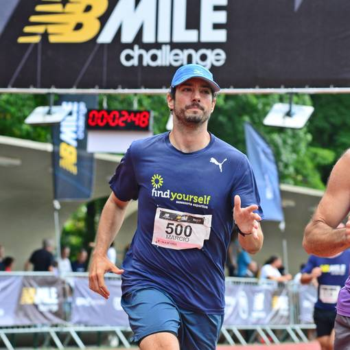 New Balance Mile Challenge on Fotop