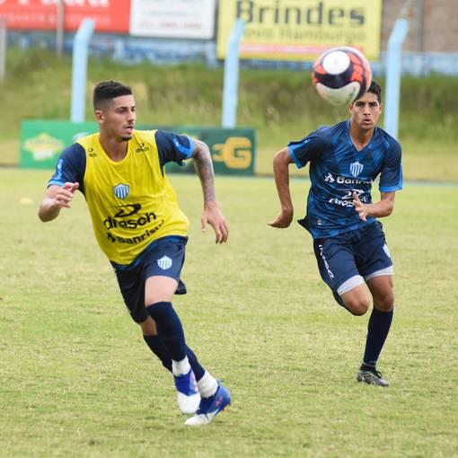 Treino Esporte Clube Novo HamburgoEn Fotop