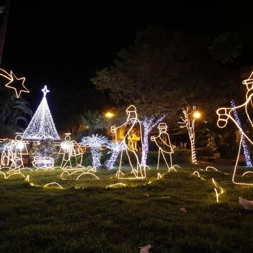 Decoração de Natal no Fotop
