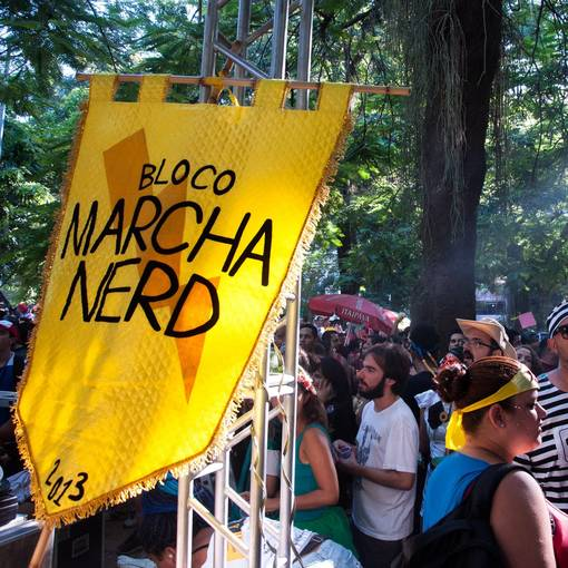 Desfile Oficial do Bloco Marcha Nerd 2018 no Fotop