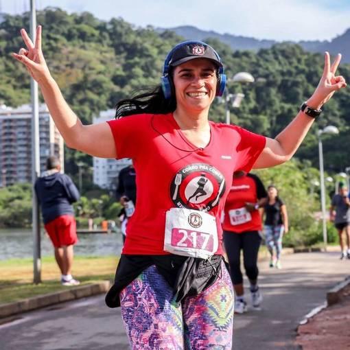 1° Corrida e Caminhada Corro Pra Comer Como Pra CorrerEn Fotos