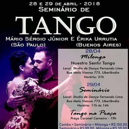 SEMINÁRIO DE TANGO no Fotop