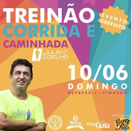 Treinão de Corrida e Caminhada - Julio Coelho on Fotop