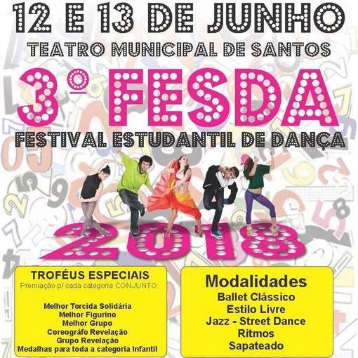3º FESDA - Festival Estudantil de Dança - Dia 13 on Fotop