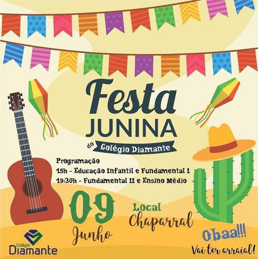 Festa Junina 2018 Colegio DiamanteEn Fotos